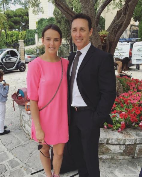 Полин Дюкре с отцом