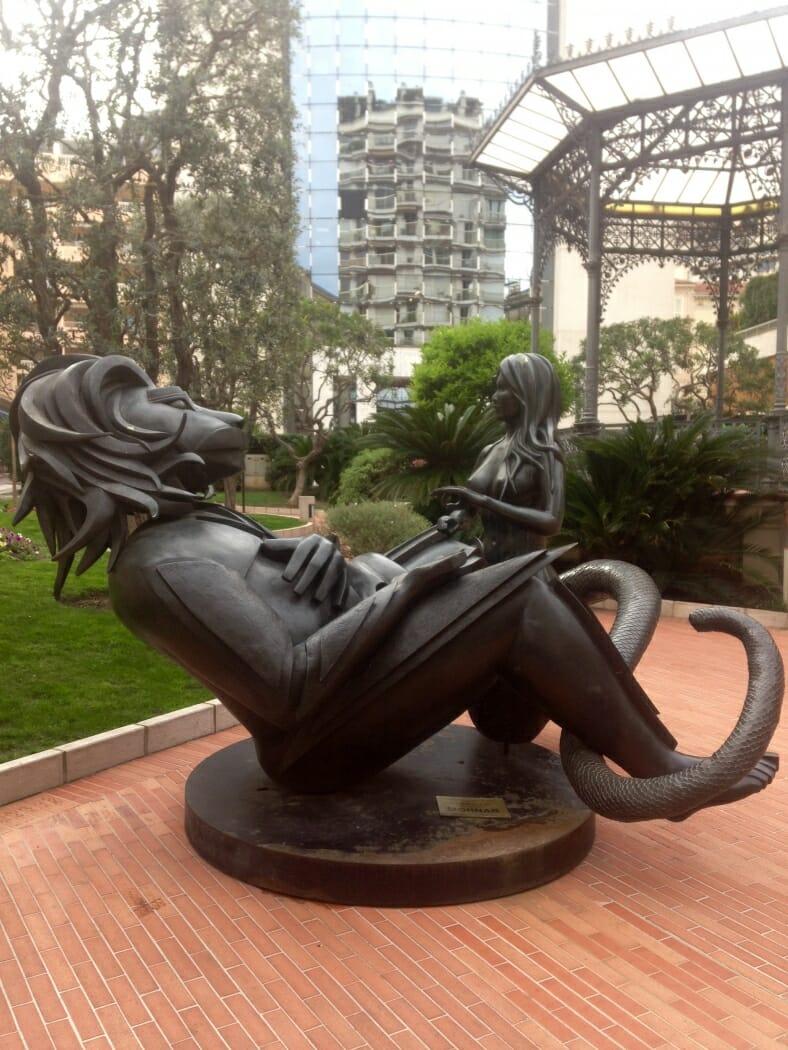Скульптура Морнара