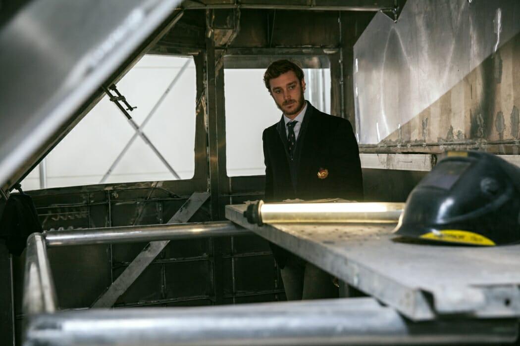 Пьер Казираги на новой яхте Dynamiq