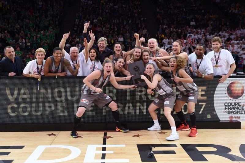 Баскетболистки из Монако выиграли трофей Кубка Франции