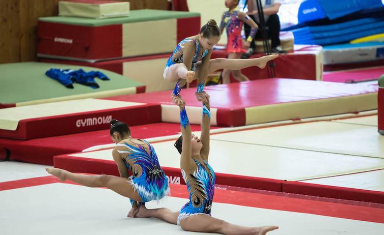 гимнастки Монако