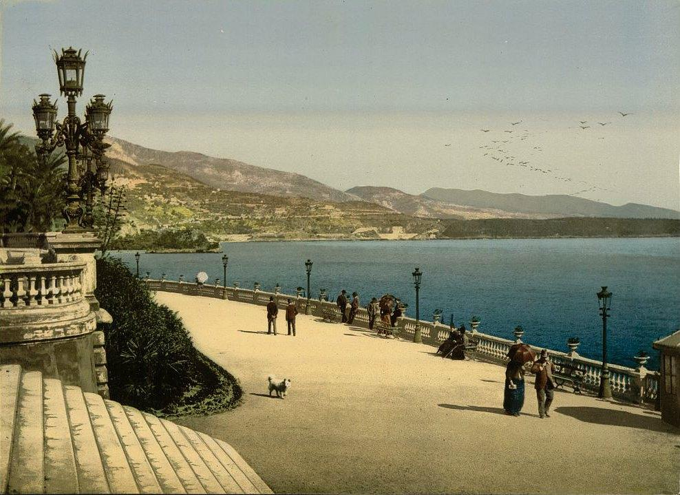 Вид Монако