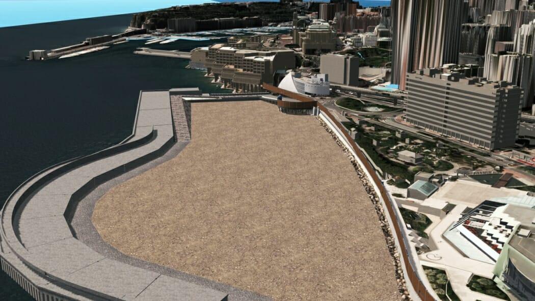 Начало строительства квартала Портье