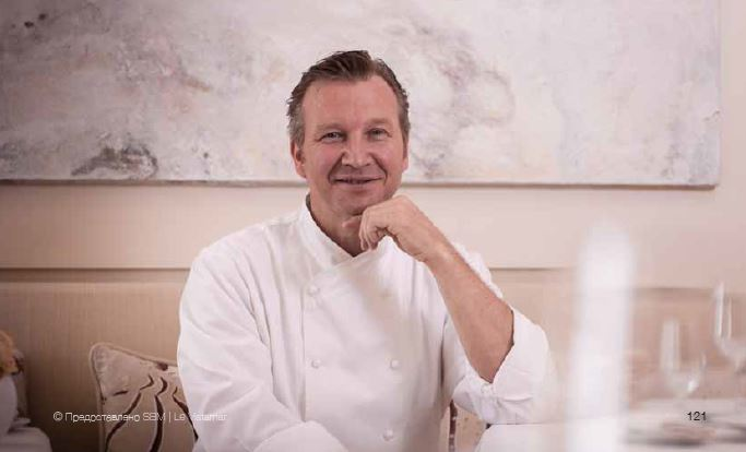 Шеф-повар ресторана Le Vistamar Бенуа Витц