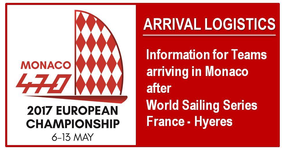 Чемпионат Европы 470 в Монако