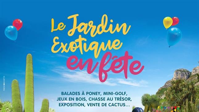 Детский праздник в Jardin_Exotique