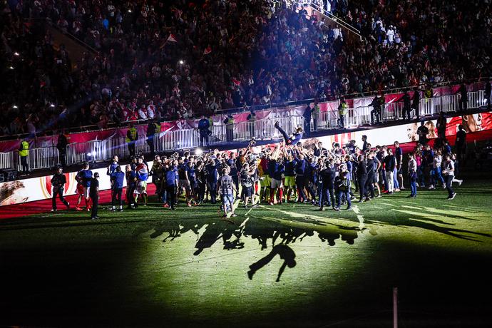 Финальный матч чемпионата Франции