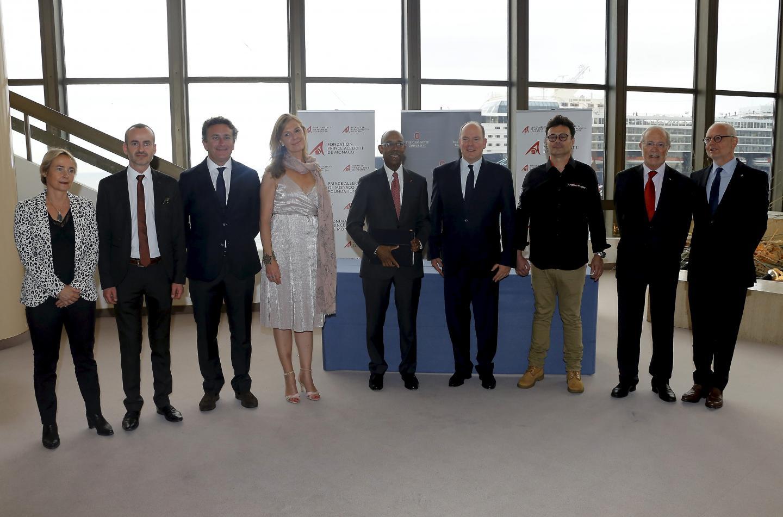 """Князь Монако на премьере документального фильма """"Монако, назад в будущее"""""""
