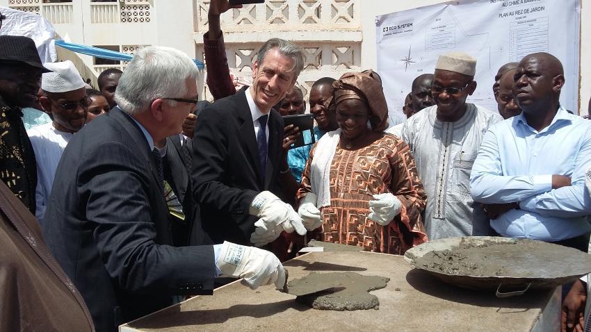 Жиль Тонелли в Мали