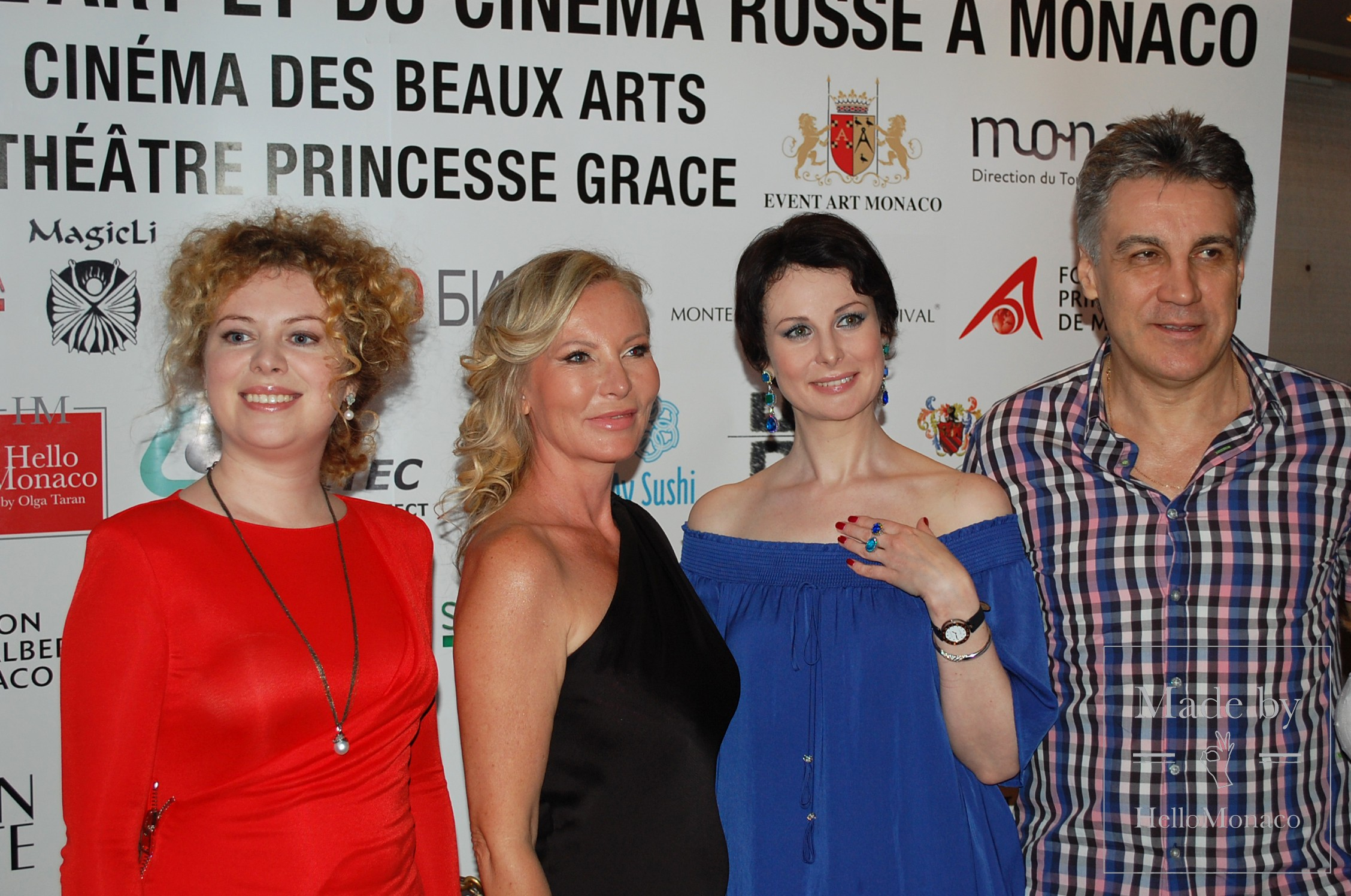 Открытие IV Фестиваля русского искусства и кино в Монако