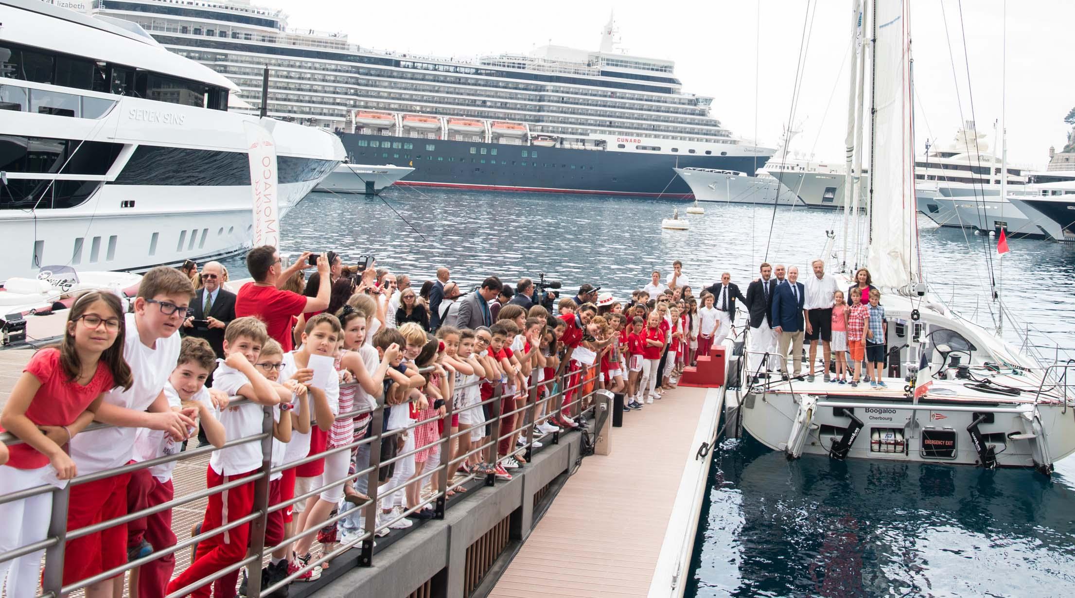 Иван Грибоваль завершил кругосветное путешествие в Монако
