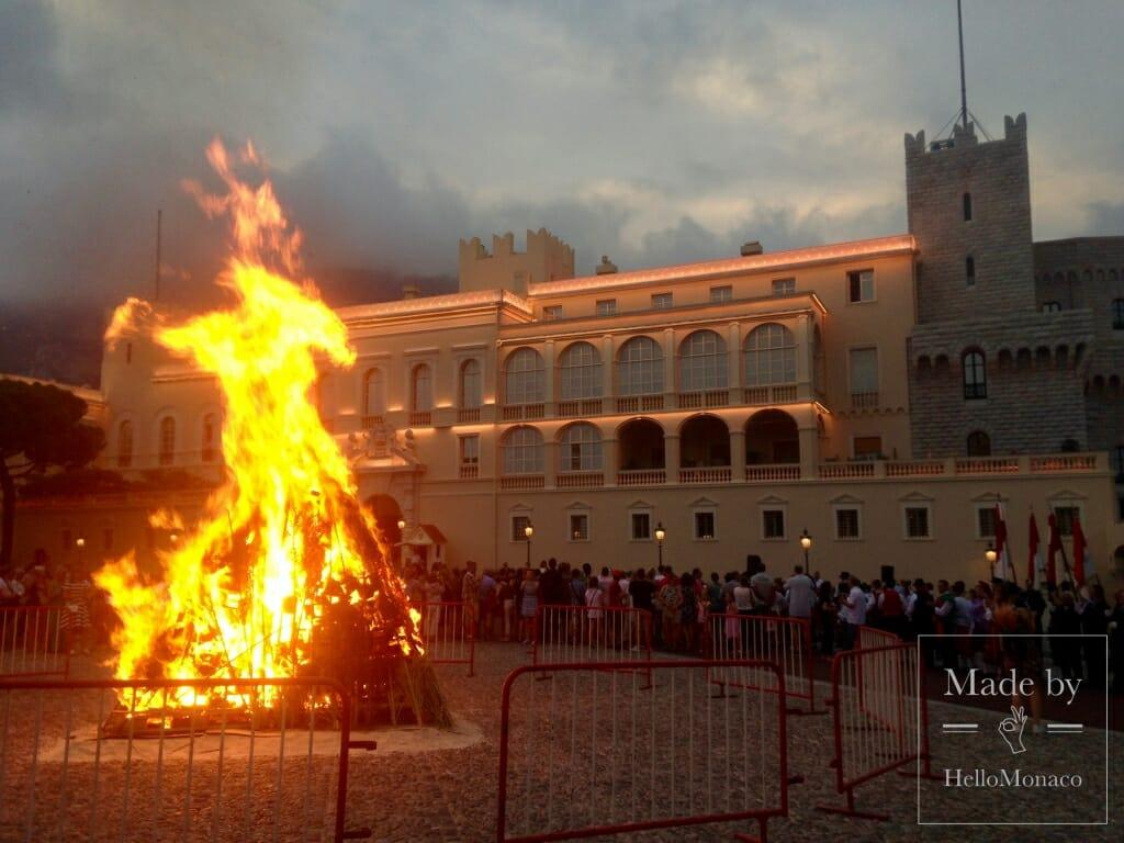 Монегаски отметили день Св. Иоанна праздничным костром
