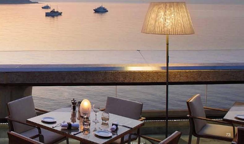 10 звездных ресторанов Монако: Horizon Deck
