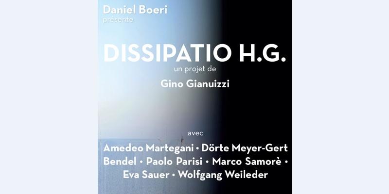 Выставка Dissipatio HG в арт-галерее L'Entrepôt