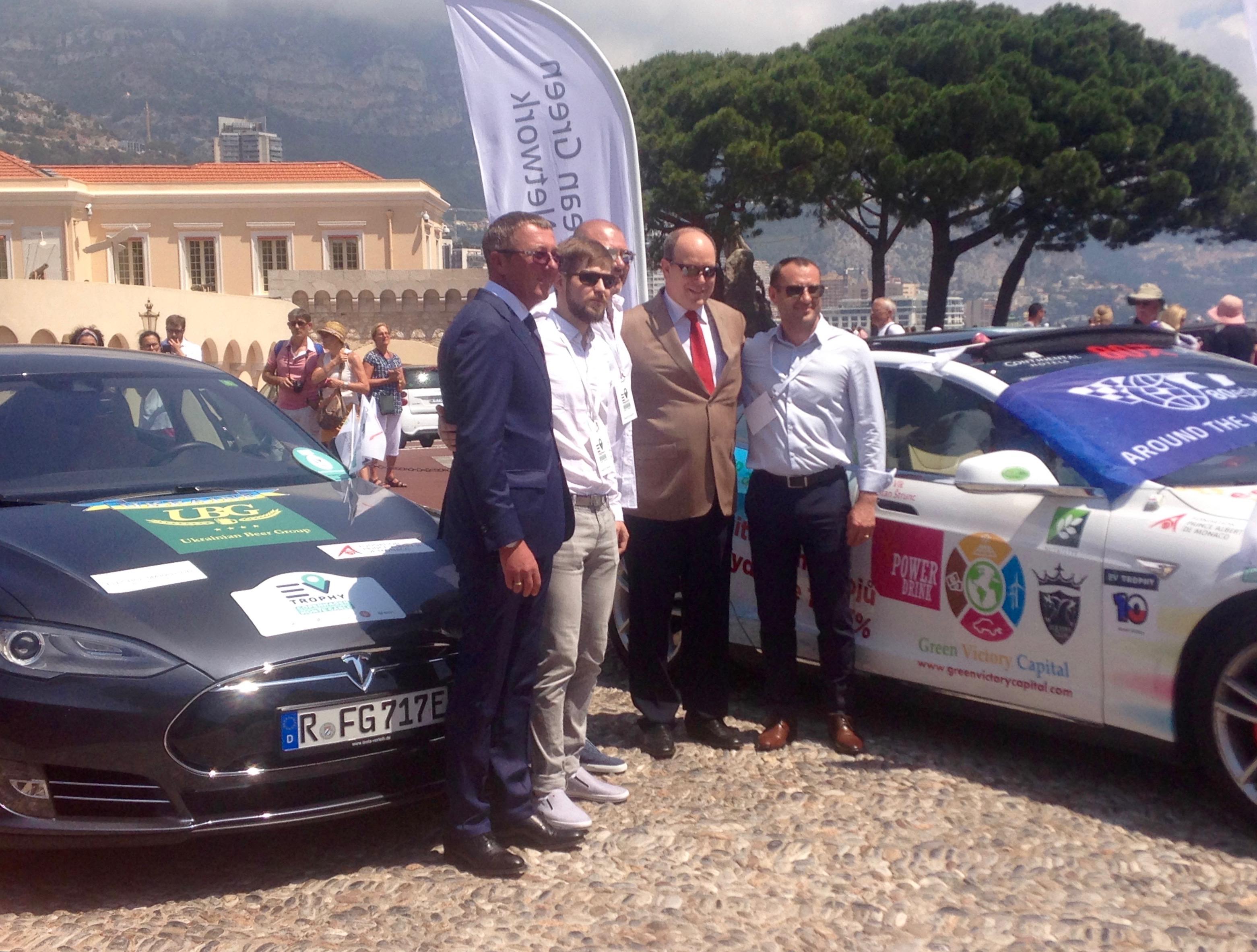 В Монако объявили победителей ралли EV Trophy-2017