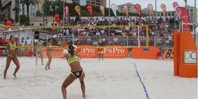 Турнир по пляжному волейболу FxPro Monte-Carlo