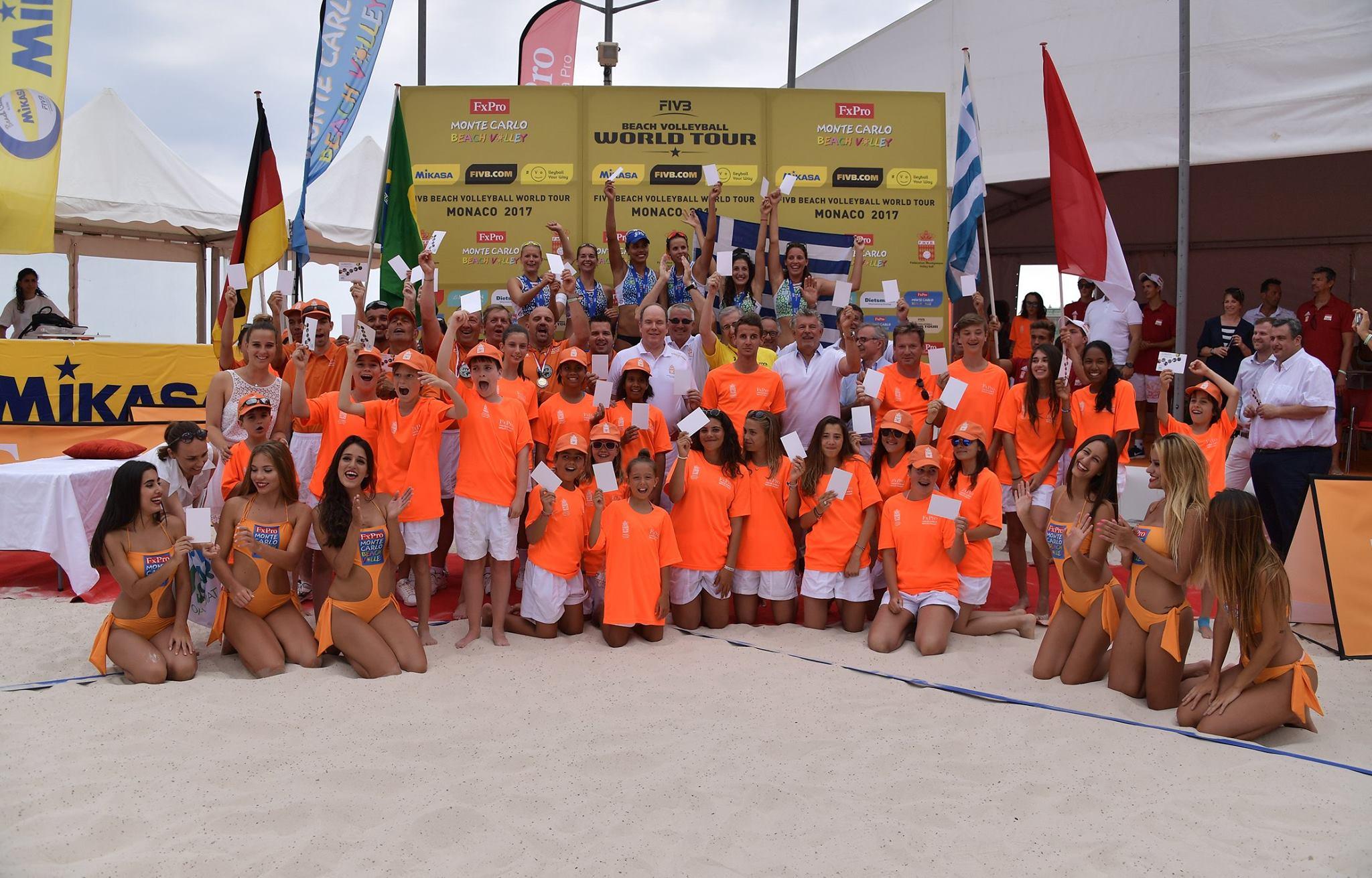 В Монако прошел 9-й чемпионат по пляжному волейболу