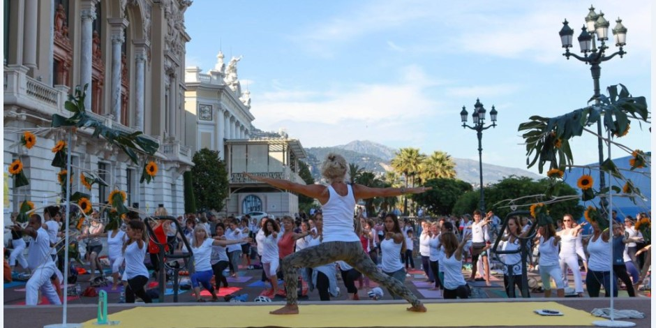 В Монако прошел Фестиваль йоги Solstice