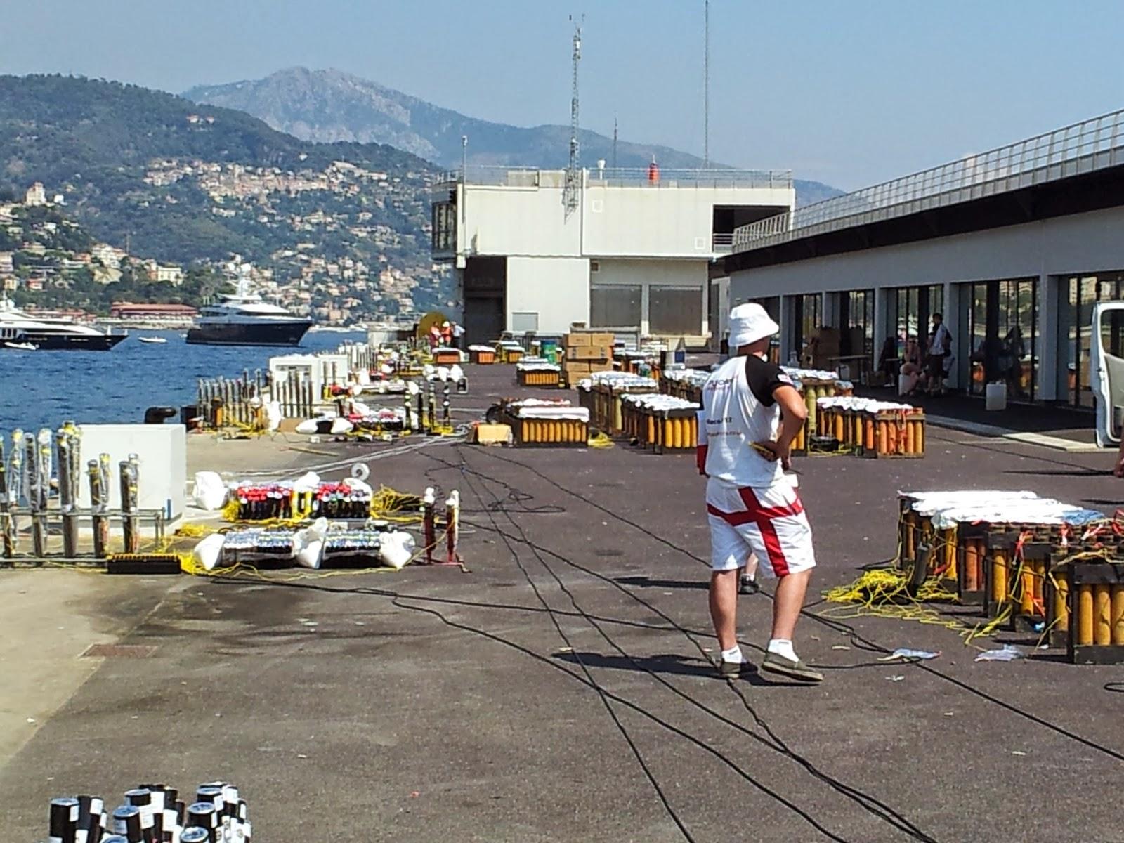 В Монако стартует Международный конкурс фейерверков