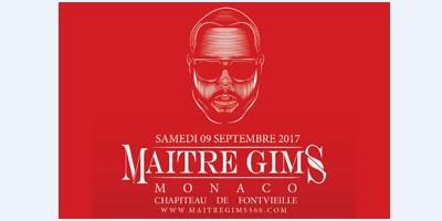 Концерт Maître Gims в шапито Fontvieille