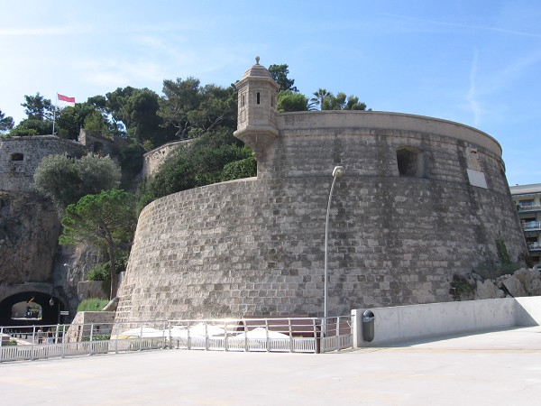 Fort Antoine - театр под открытым небом в Монако