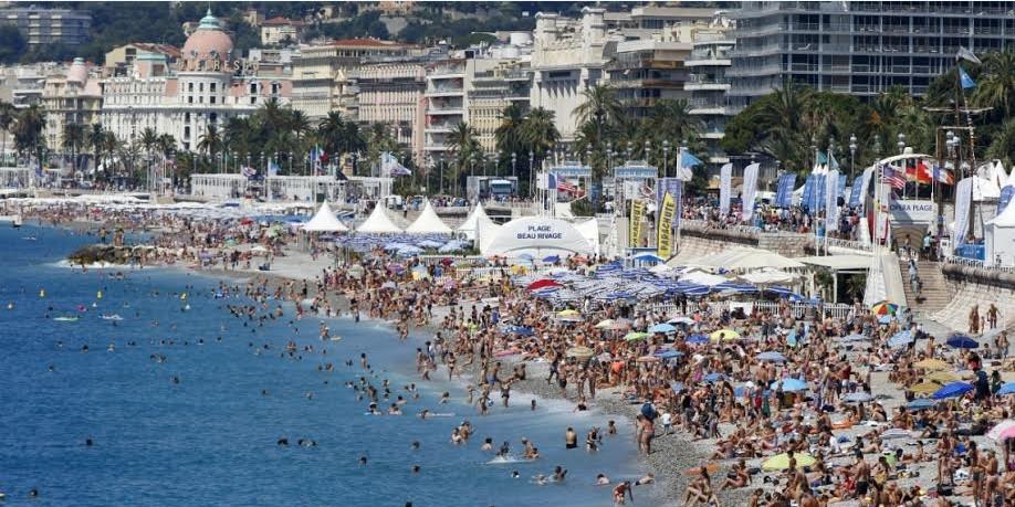 На юге Франции ожидается более 4,5 миллионов туристов