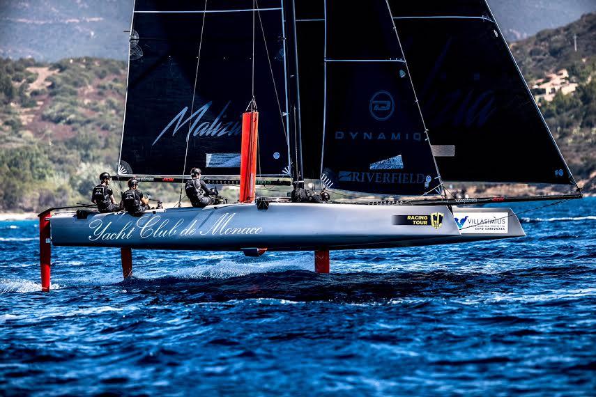 Пьер Казираги и его Malizia: отличный результат в регате на Сардинии