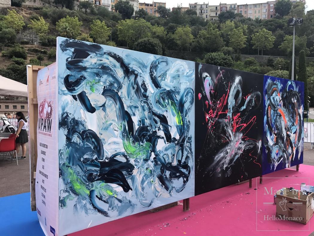 UPAW: стрит-арт художники творят в Монако