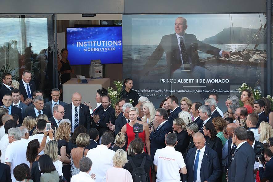 Князь Альбер II дал старт кругосветной экспедиции Explorations Monaco