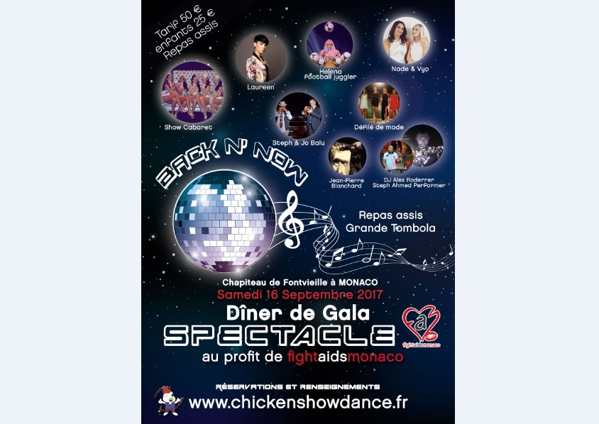 Благотворительный вечер ассоциации Chicken Show Dance
