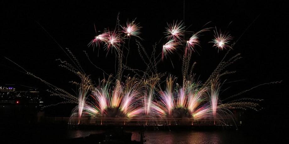 В Монако завершился 51-й Международный фестиваль фейерверков