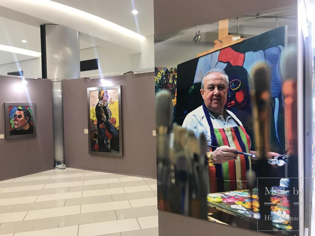 Фестиваль русского искусства в Каннах: выставка Зураба Церетели