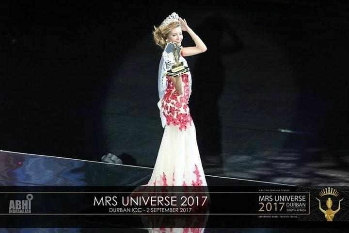 """Анастасия Горшкова - финалистка конкурса """"Миссис Вселенная-2017"""""""