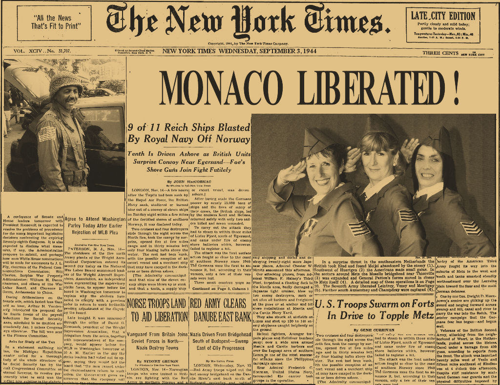 В Монако отметят День освобождения от фашистских войск