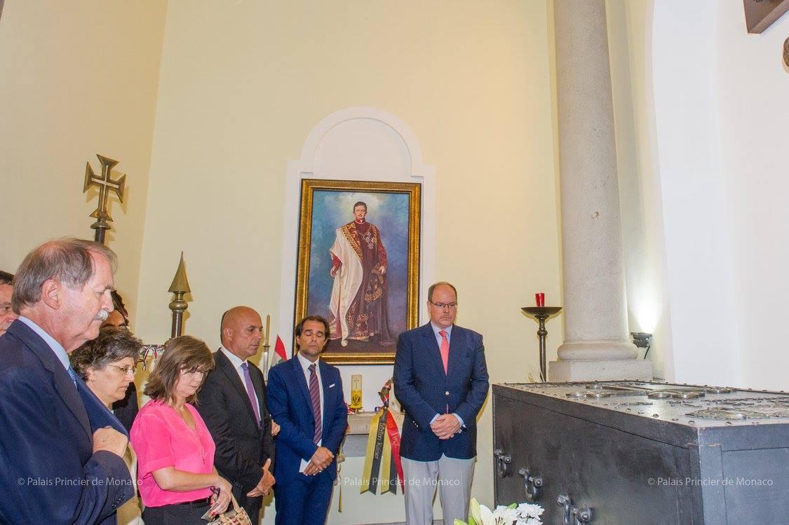 Князь Альбер II посетил Португалию