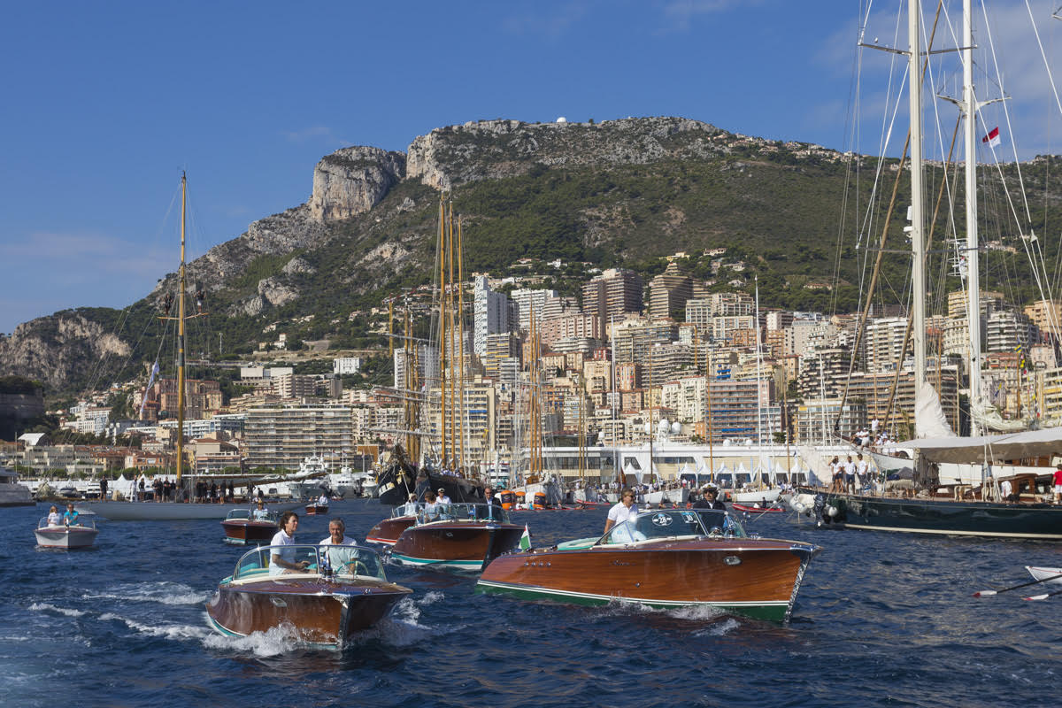 La Belle Classe: неделя классических яхт в Монако