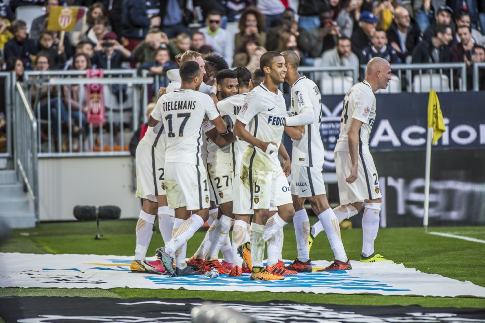 Лига 1: Монако выиграл в матче с Бордо