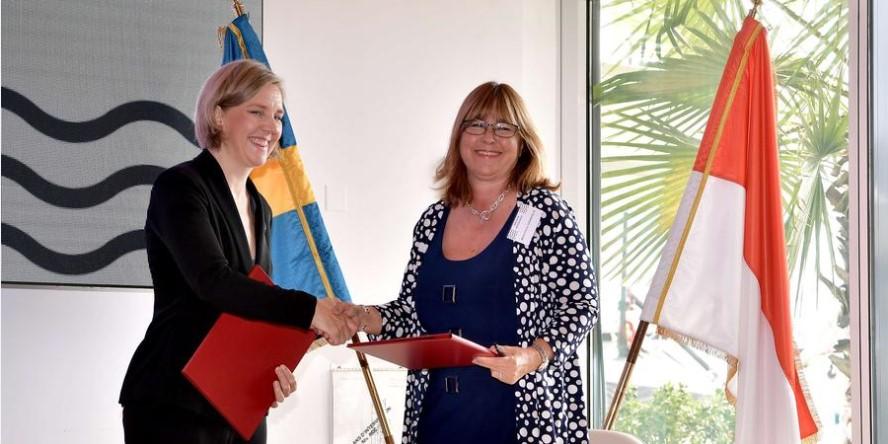 Монако и Швеция подписали договор о сотрудничестве