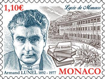 В Монако выпустили марки в честь футбольной команды