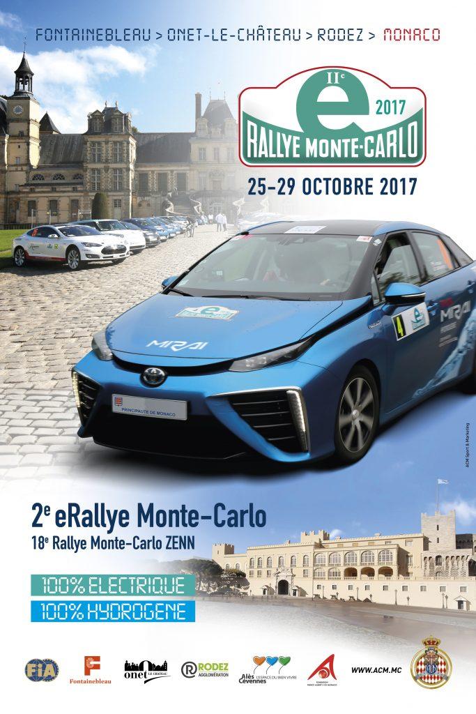 2-я гонка Е-Rallye Monte-Carlo