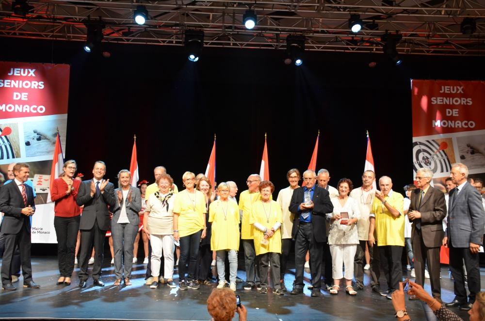 В Монако прошли соревнования для пожилых людей