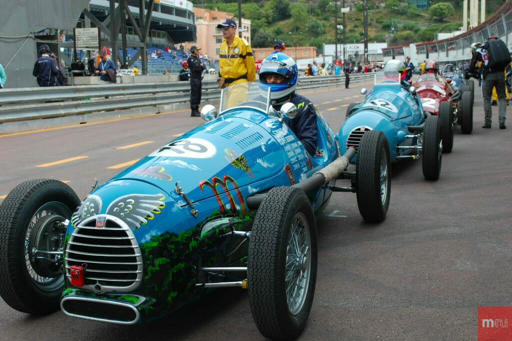 11-й Исторический Гран-при Монако пройдет в 2018 году