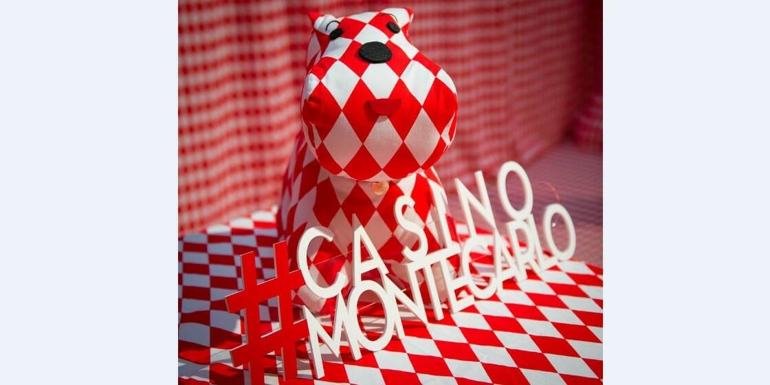 Впечатляющая инсталляция в Казино Монте-Карло