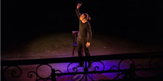 """Спектакль """"Dans la peau de Cyrano"""" в Театре Муз"""
