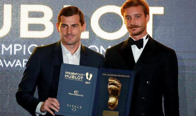 Golden Foot-2017: кто оставил свой след на Аллее чемпионов?