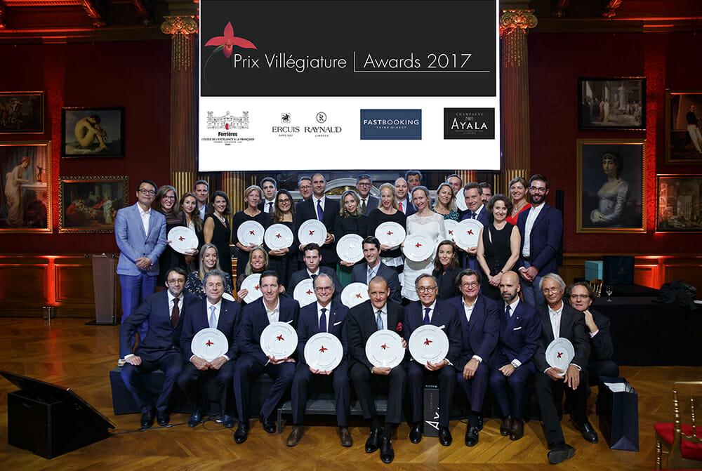 Компания SBM получила две премии Villégiature Awards