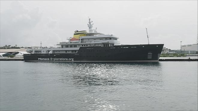 Исследовательское судно Yersin на Мартинике
