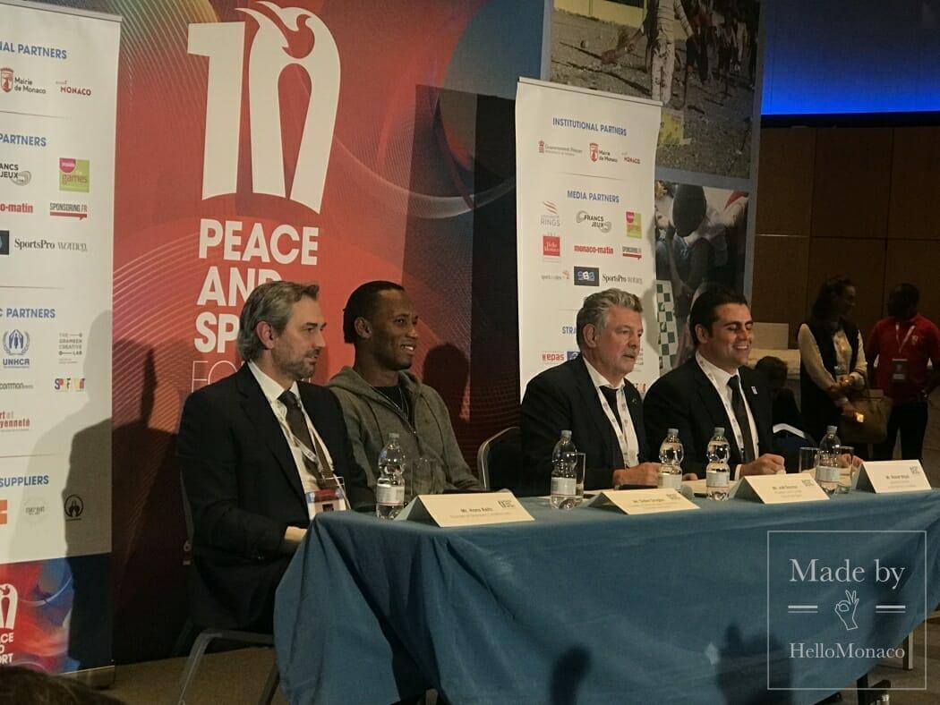 В Монако прошел 10-й Международный форум Peace and Sport