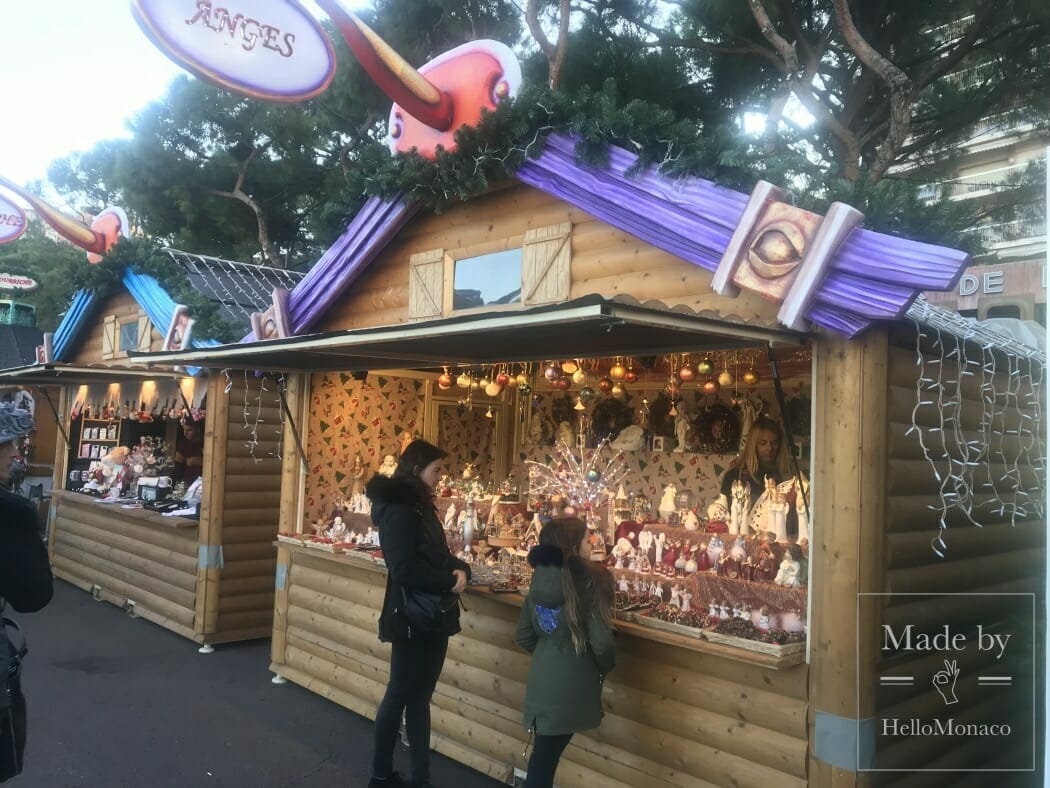 Прогулка по Рождественской деревне Монако