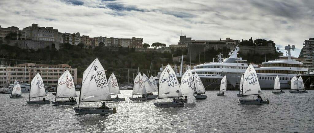 Регата Monaco Optimist Team Race